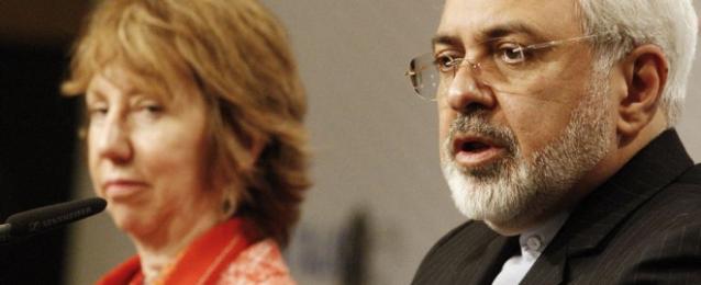 اجتماع آشتون وظريف لصياغة اتفاق نهائى بين إيران والدول الست