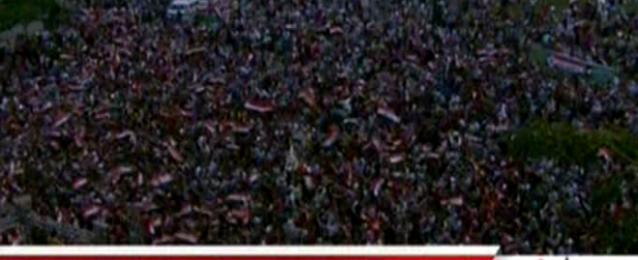احتفالات بالتحرير بعد إعلان فوز السيسى رسميا بمنصب الرئيس