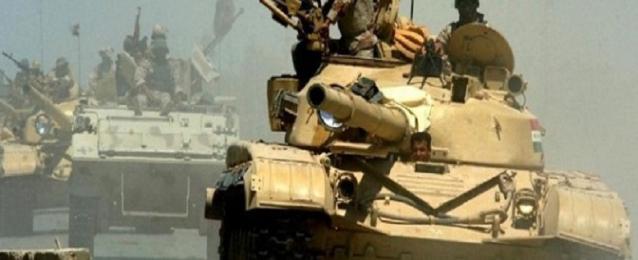 القوات العراقية تبدأ عملية واسعة لإستعادة السيطرة على تكريت