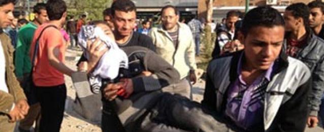 وزارة الصحة : اصابة 15 فى تجمعات بالقاهرة والجيزة