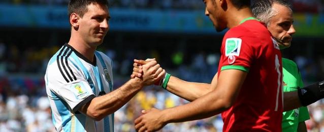 الأرجنتين تتأهل لدور الـ16 بفوز صعب على إيران