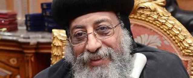 البابا تواضروس يصلي في الفيوم من أجل الجيش والشرطة والشهداء.. ويدعو لبناء مصر الجديدة
