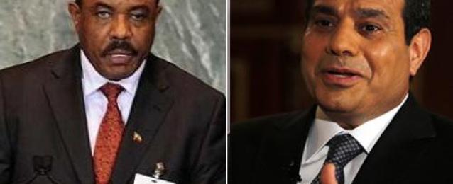 لقاء قمة بين السيسي ورئيس وزراء اثيوبيا خلال أسبوعين