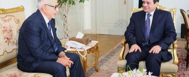 الرئيس السيسي يستقبل رئيس الاتحاد البرلماني الدولي