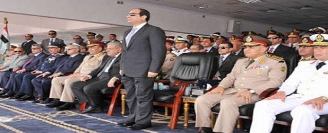 السيسي يشهد حفل تخريج الدفعة ال ١٤٩ من ضباط الصف المتطوعين