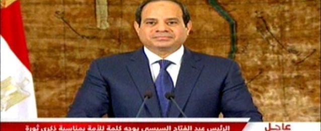 السيسي: ثورة 30 يونيو أثبتت قدرة أبناء مصر على الاصطفاف في مواجهة التحديات