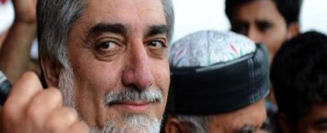 المئات يتظاهرون بكابول لدعم المرشح الرئاسي عبد الله عبد الله