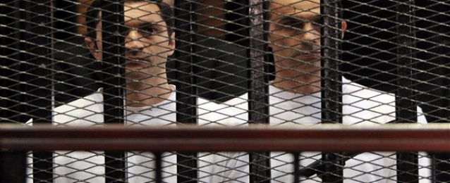 """اليوم .. استئناف محاكمة نجلى مبارك وآخرين فى """"التلاعب بالبورصة"""""""