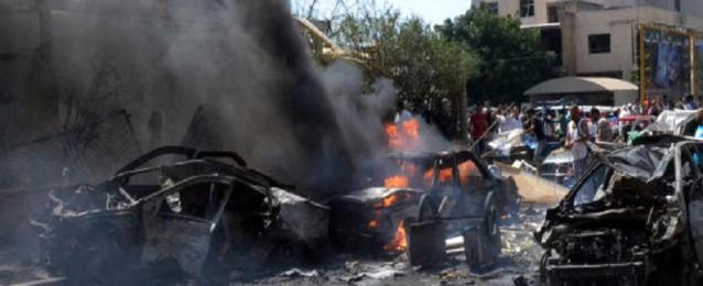 الصليب الأحمر اللبناني: قتيل و34 مصابا حصيلة مبدئية لانفجار ضهر البيدر