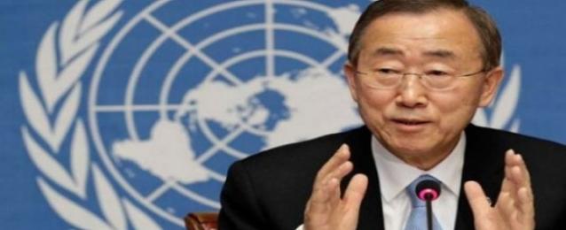 بان جي مون يحث على اجراء حوار لوقف العنف في العراق