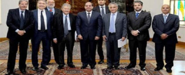 برلماني إيطالي: ندعم مصر لمواجهة المخاطر التي تهددها داخليا وإقليميا