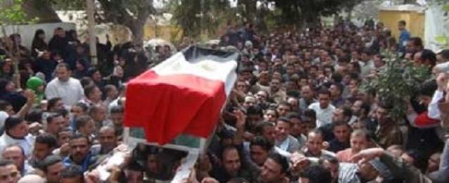 تشييع جنازة شهيد الشرطة النقيب نصار من مسجد الشرطة بالعباسية