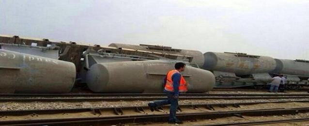 توقف حركة القطارات بين القاهرة والاسكندرية
