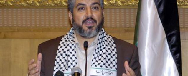 خالد مشعل ينفي علمه بهوية خاطفي الإسرائيليين الثلاثة في الضفة الغربية