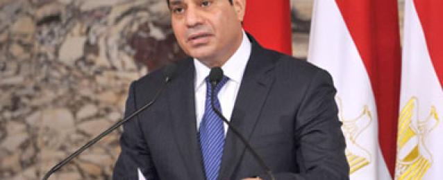 الرئيس السيسي يظهر غدًا في أول مؤتمر صحفى له منذ توليه الرئاسة