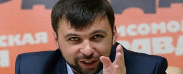 رئيس جمهورية دونيتسك ينجو من محاولة اغتيال