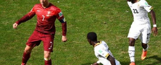 رونالدو يعود للتهديف متأخرا والبرتغال ترافق غانا إلى خارج المونديال