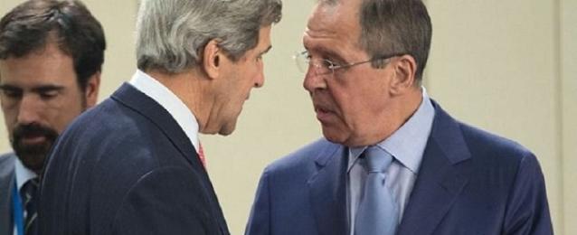 لافروف و كيري يبحثان الوضع في أوكرانيا والعراق وسوريا