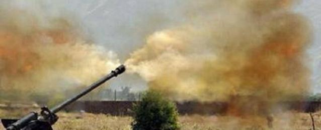 قوة أمنية تقتل 3 عناصر من تنظيم داعش أثناء قصف مدفعي في ديالي