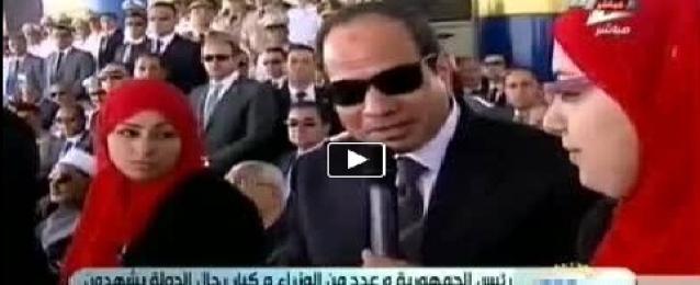 بالفيديو : السيسي يطالب الشعب المصري بضرورة الاصطفاف من أجل الوطن
