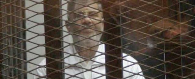 """الجنايات تستأنف محاكمة """"مرسي"""" و130 آخرين في قضية """"وادى النطرون"""""""