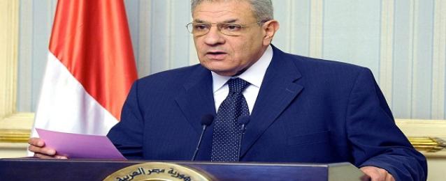 محلب: نجاح الانتخابات الرئاسية سيعيد مصر إلي دورها بالاتحاد الافريقي