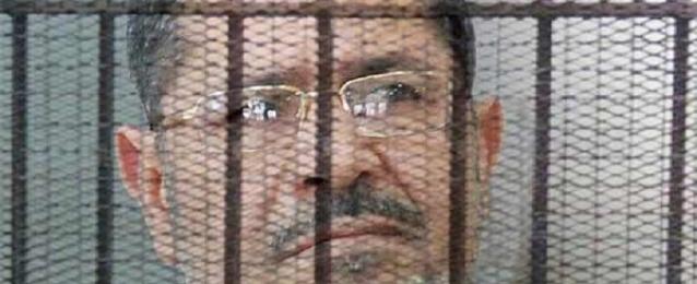 """تأجيل محاكمة مرسي وآخرين في قضية """"وادي النطرون"""" إلى 28 يونيو"""