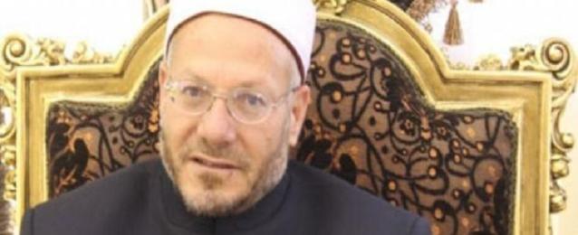 مفتى الجمهورية يطالب المصريين بنبذ الخلاف والتكاتف سويا