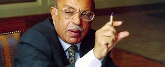 مفيد شهاب : لا يمكن اللجوء إلى التحكيم الدولي في أزمة سد النهضة