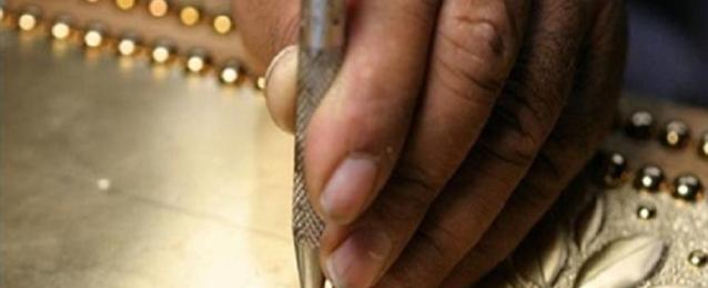 بازار عن الحرف اليدوية المصرية في المركز الثقافي في لندن