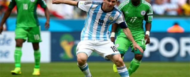 نسور نيجيريا تخسر من الأرجنتين وترافقها لدور الـ16