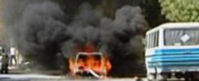 انفجار عبوة ناسفة وإبطال أخرى فى طريق حافلات نقل الجنود في رفح