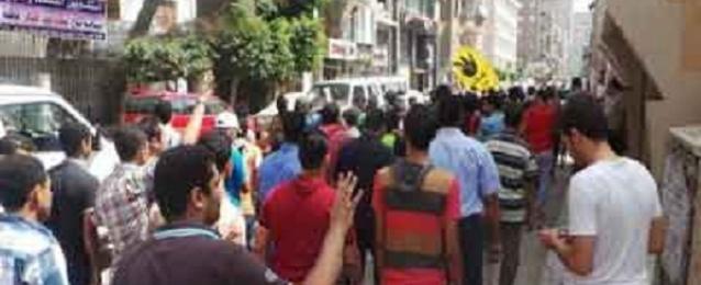 أمن البحيرة يفرق مسيرة للاخوان برشيد ويلقى القبض على 7 من انصارهم