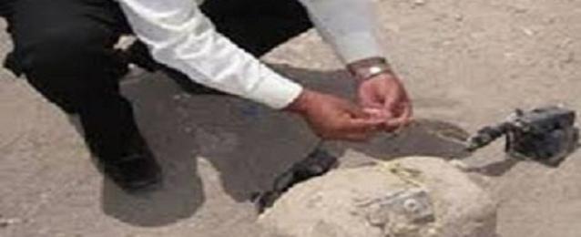"""إبطال مفعول عبوتين ناسفتين خلف مسجد """"عبد الله وهبي"""" بالفيوم"""