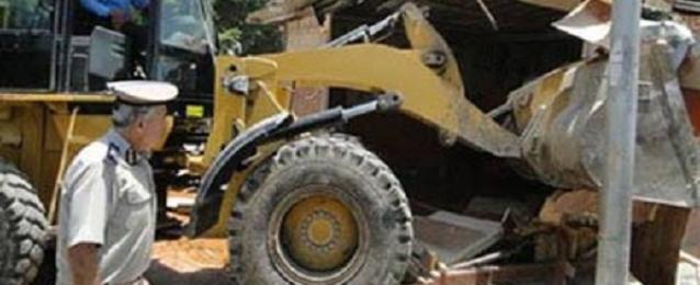 إزالة 107 إشغالات طريق وتحرير 21 قضية بشمال سيناء