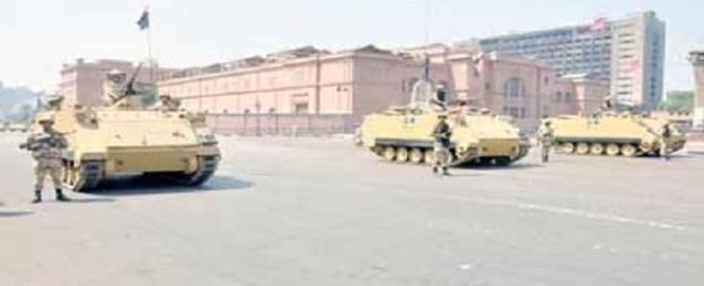 إغلاق ميدان التحرير وتشديد الاجراءات الامنية بالمناطق الحيوية