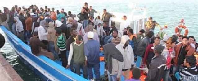 احباط محاولة تسلل 84 شخصا لليبيا بطريقة غير شرعية