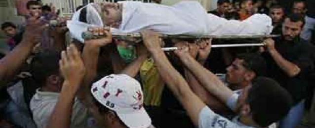 استشهاد فلسطينى في غارة اسرائيلية على منزله بجنوب قطاع غزة