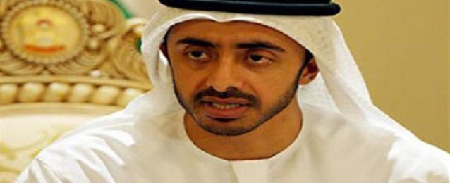 الإمارات تؤكد دعمها للجهود المصرية لوقف النار بقطاع غزة