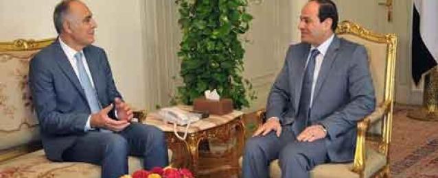 السيسي لوزير خارجية المغرب: مصر تتطلع للارتقاء بعلاقاتها مع بلدكم
