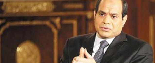 """""""السيسي"""" يستقبل رئيس البرلمان الليبي بقصر الاتحادية"""