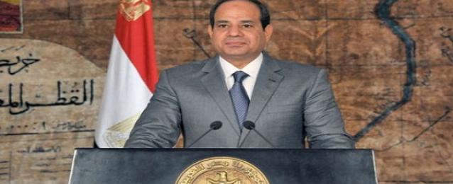السيسي : الشعب يمثل مع الجيش كتلة صلبة لإستمرار الدولة المصرية