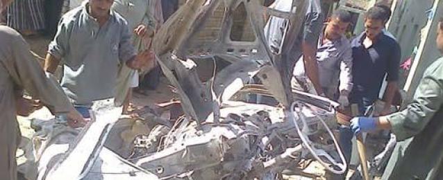 أمن الجيزة يحدد هوية الإرهابيين الثلاثة منفذي تفجير الصف