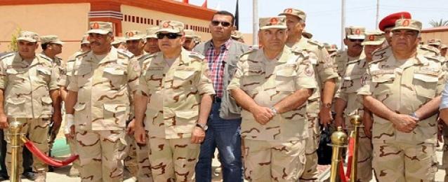 الفريق اول صدقي صبحي يؤكد الاستعداد الدائم للدفاع عن تراب مصر