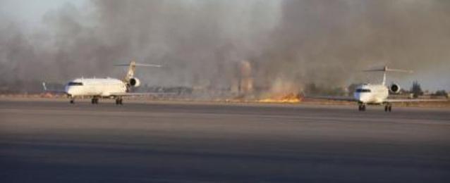مليشيا ليبية تقول تم التوصل لهدنة لوقف معارك المطار