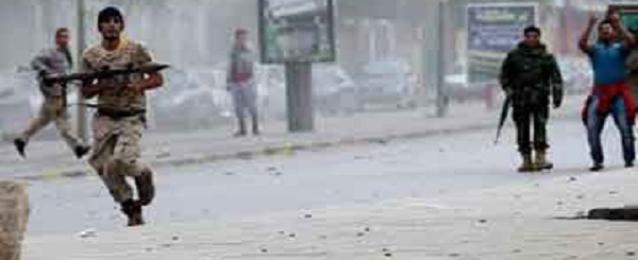 الهلال الأحمر الليبى: مقتل سيدة مصرية فى اشتباكات بمدينة بنغازى