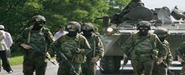 اندلاع معارك بين القوات الحكومية الاوكرانية والعناصر الانفصالية