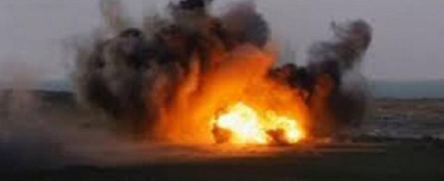 """انفجار عبوة بطريق حافلات نقل جنود على طريق """"العريش – رفح"""""""