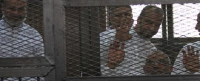 تأجيل محاكمة بديع والبلتاجي وحجازي فى اقتحام قسم شرطة العرب لـ 24 أغسطس