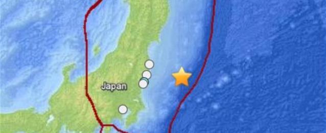 بعد زلزال قوي قرب فوكوشيما تحذير من تسونامي شمال شرق اليابان